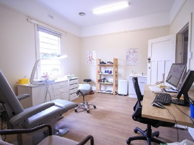 Claremont Podiatry Office